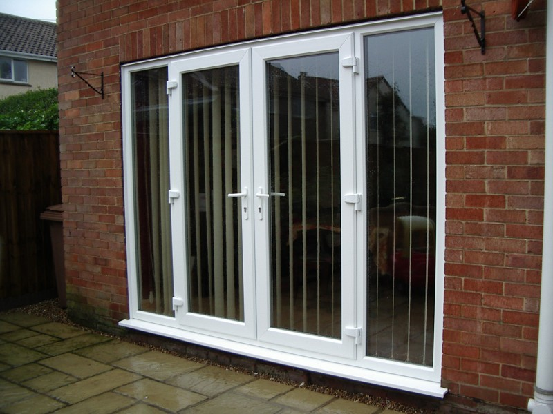 anglia doors upvc door finished in white knight